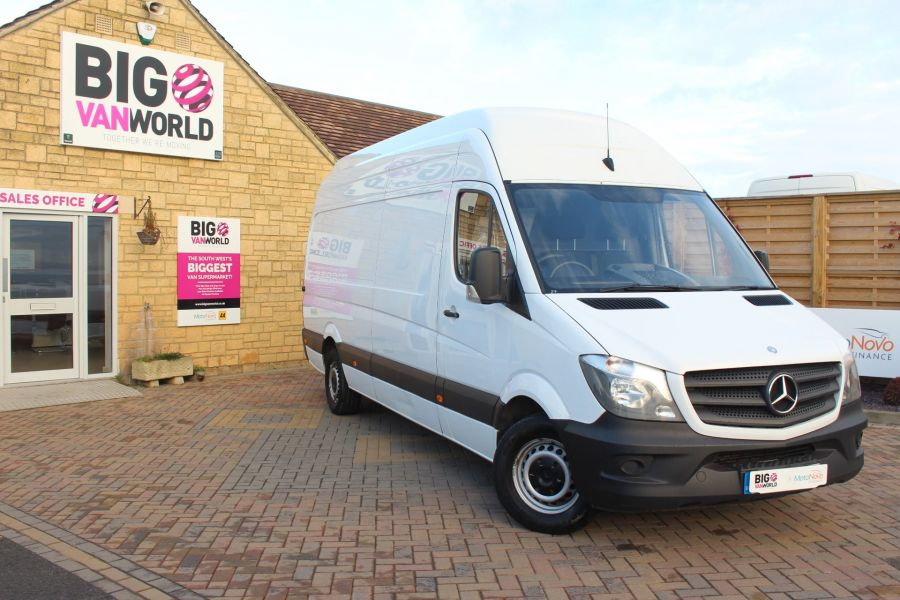 MERCEDES SPRINTER 313 CDI LWB EXTRA HIGH ROOF - 6945 - 1