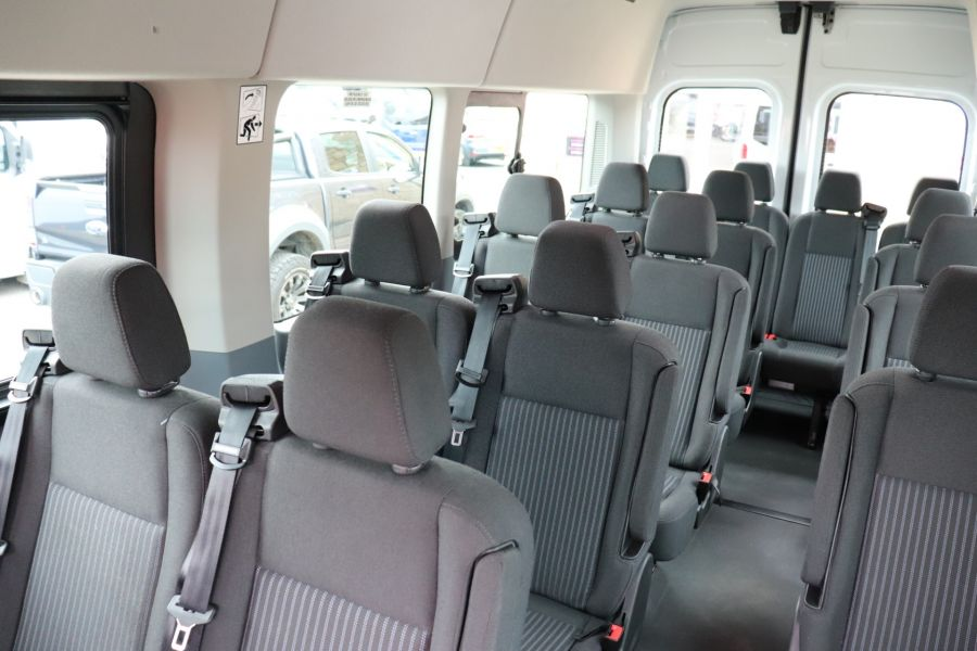 FORD TRANSIT 460 TDCI 155 L4H3 TREND 17 SEAT BUS HIGH ROOF DRW RWD - 9767 - 39