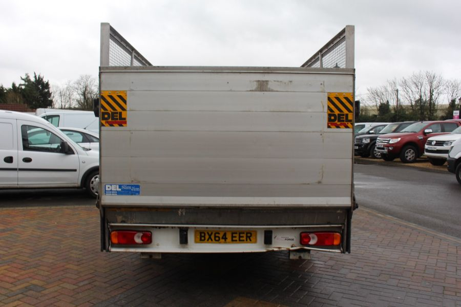 FIAT DUCATO 35 MAXI MULTIJET 130 13.5 FT ALLOY CAGED DROPSIDE WITH TAIL LIFT - 8868 - 6