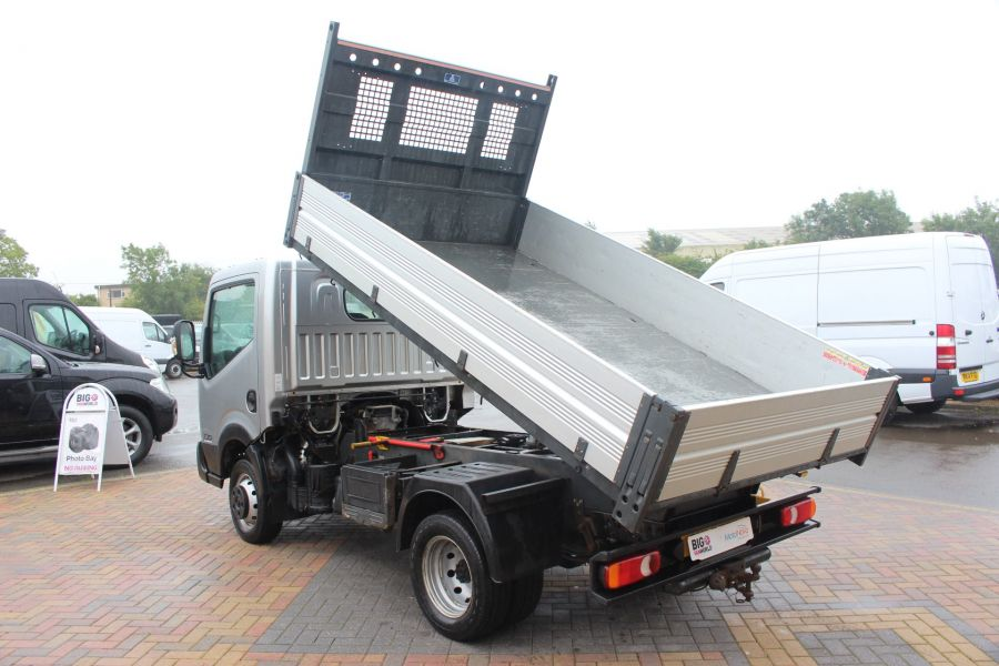 NISSAN NT400 CABSTAR DCI 35.14 SWB ALLOY TIPPER - 6520 - 6