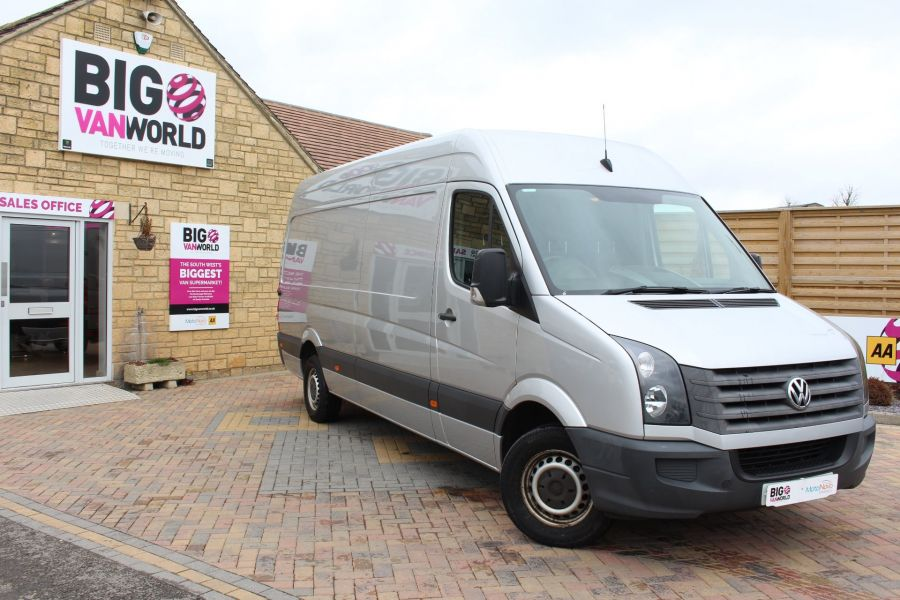 VOLKSWAGEN CRAFTER CR35 TDI 143 LWB HIGH ROOF - 7581 - 2