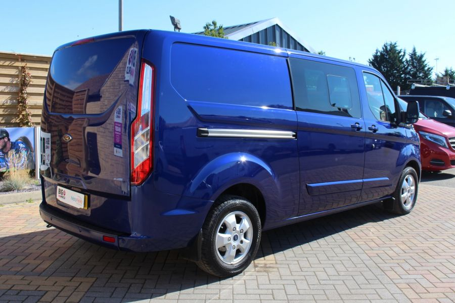 FORD TRANSIT CUSTOM 290 TDCI 155 L2 H1 LIMITED DOUBLE CAB LWB LOW ROOF - 6509 - 5