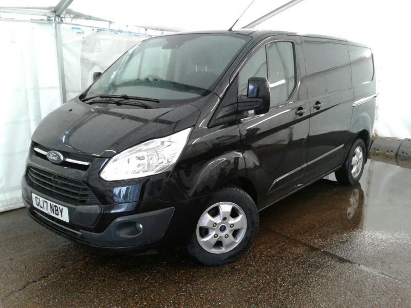 FORD TRANSIT CUSTOM 270 TDCI 130 L1 H1 LIMITED SWB LOW ROOF FWD - 9460 - 1
