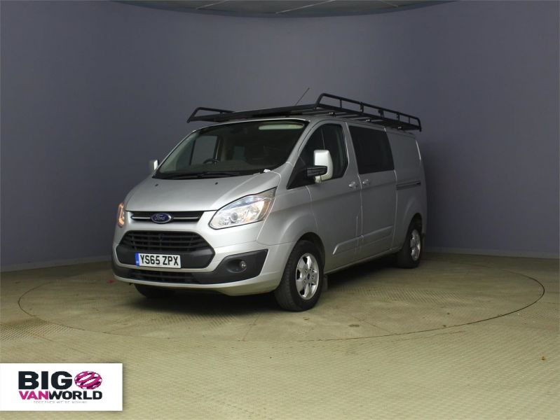 FORD TRANSIT CUSTOM 290 TDCI 125 L2 H1 LIMITED DOUBLE CAB 6 SEAT CREW VAN LWB LOW ROOF  - 8859 - 5