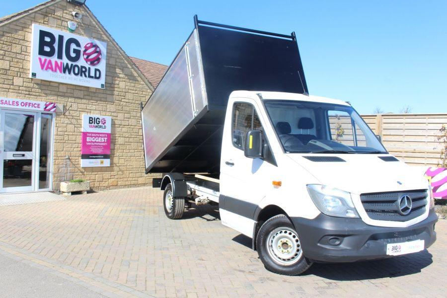 MERCEDES SPRINTER 313 CDI 129 MWB SINGLE CAB NEW BUILD ARBORIST ALLOY TIPPER - 9307 - 2