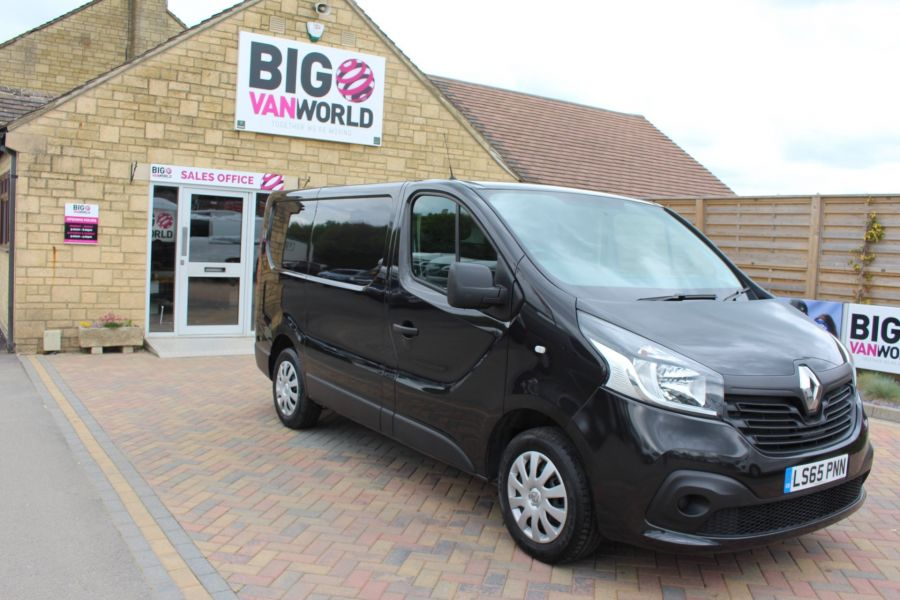 RENAULT TRAFIC SL27 DCI 115 BUSINESS PLUS SWB LOW ROOF - 9213 - 2