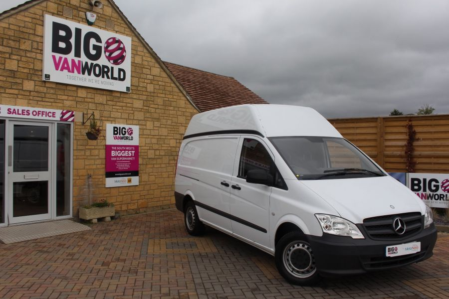 MERCEDES VITO 116 CDI 163 BHP LWB HIGH ROOF - 6716 - 1