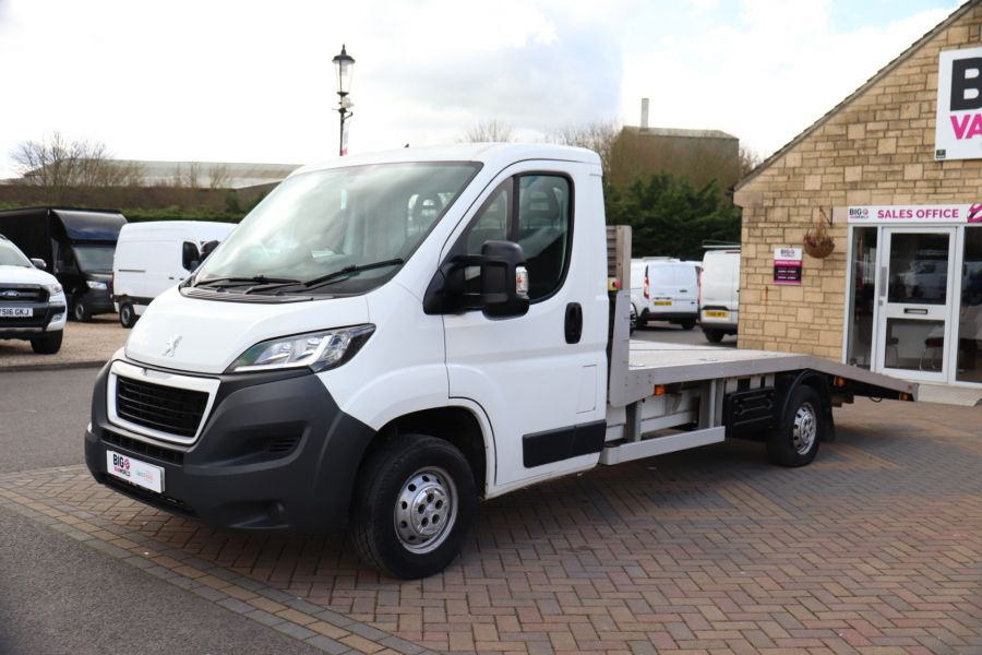PEUGEOT BOXER 335 HDI 130 L3 LWB SINGLE CAB ALLOY RECOVERY TRUCK VEHICLE TRANSPORTER WITH ELECTRIC WINCH - 10593 - 9
