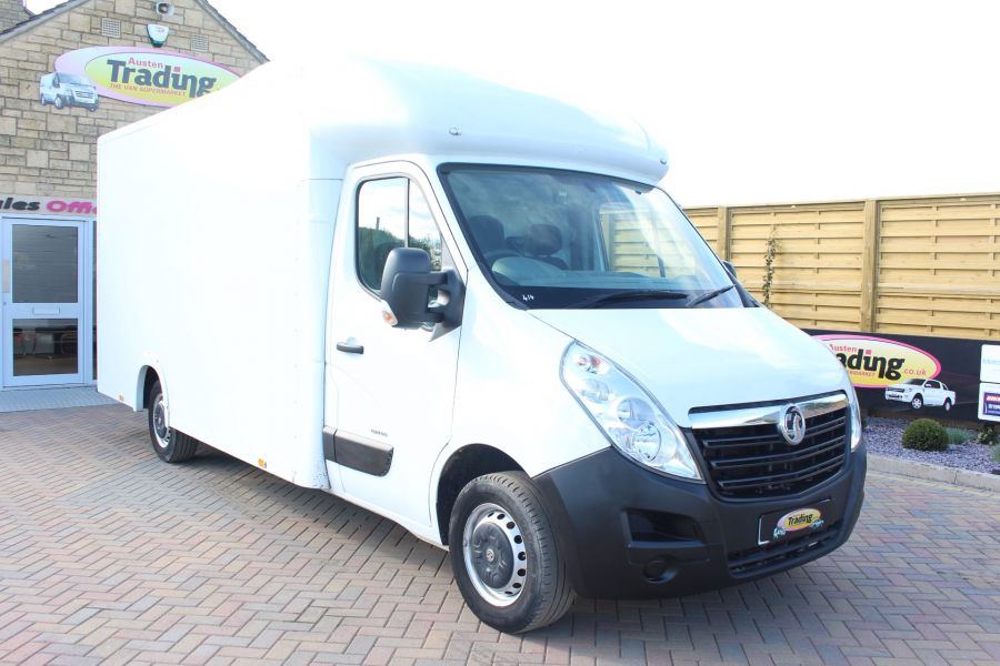VAUXHALL MOVANO F3500 L3H1 CDTI 125 LOW LOADER 13FT LUTON - 5858 - 1