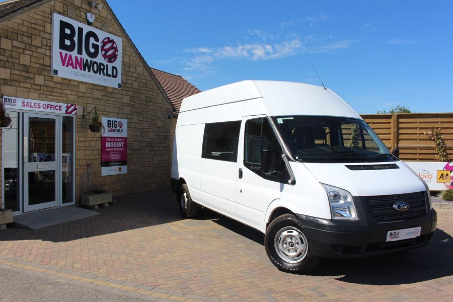 FORD TRANSIT 350 TDCI LWB HIGH ROOF 8 SEAT MESS UNIT - 6097 - 1