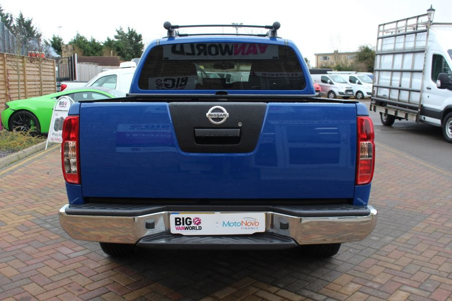 NISSAN NAVARA OUTLAW DCI 231 4X4 SHR DOUBLE CAB WITH ROLL'N'LOCK TOP - 6936 - 6