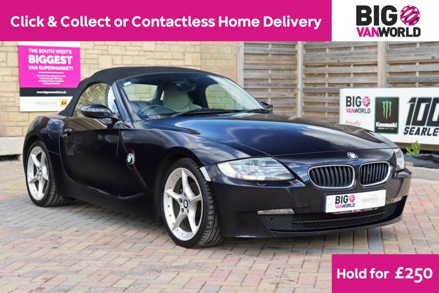BMW Z SERIES Z4 2.0i SPORT ROADSTER 150 BHP CONVERTIBLE  (14313) - 12619 - 1
