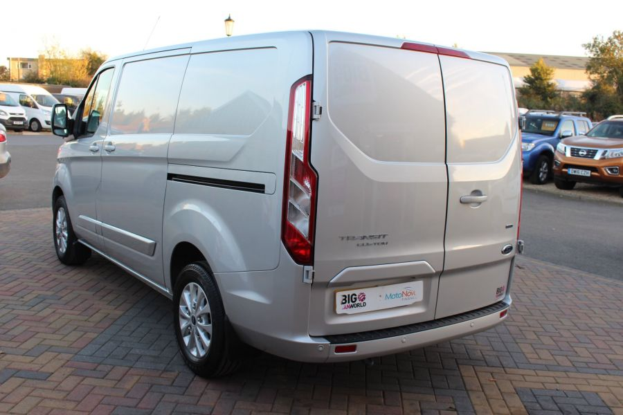 FORD TRANSIT CUSTOM 300 TDCI 130 LIMITED L1 H1 SWB LOW ROOF - 8636 - 7