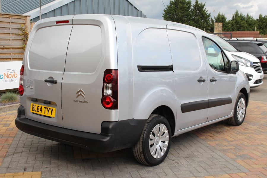 CITROEN BERLINGO 725 HDI 90 X L2 H1 5 SEAT CREW VAN SWB LOW ROOF - 9173 - 5