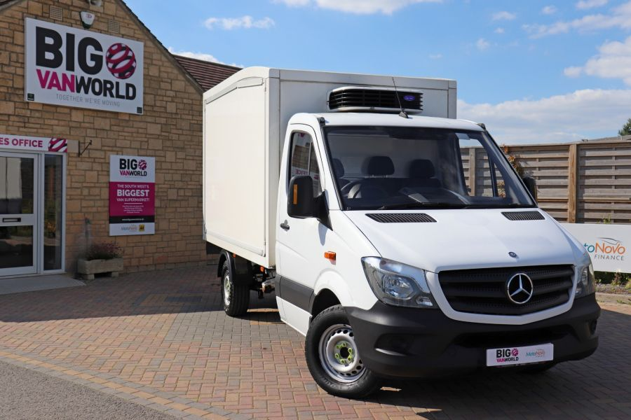 MERCEDES SPRINTER 313 CDI 129 MWB FRIDGE BOX - 9628 - 1