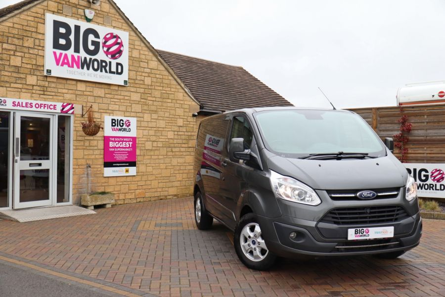 FORD TRANSIT CUSTOM 290 TDCI 170 L1H1 LIMITED SWB LOW ROOF FWD - 10514 - 1