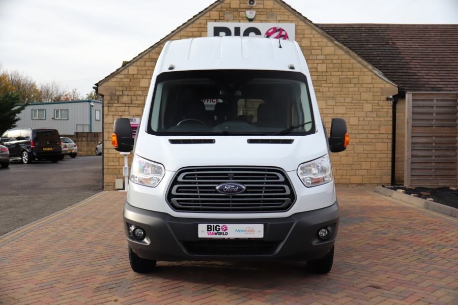 FORD TRANSIT 460 TDCI 155 L4H3 TREND 17 SEAT BUS HIGH ROOF DRW RWD - 11807 - 13