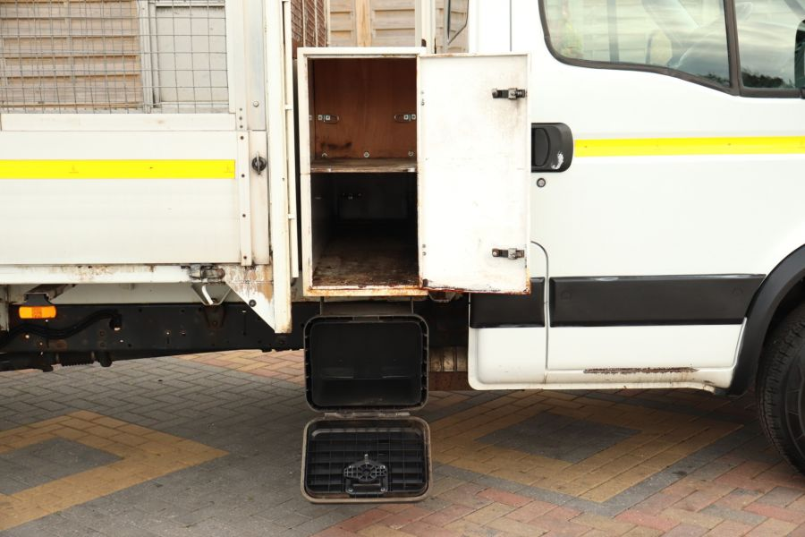 IVECO DAILY 70C18 3450 WB SINGLE CAB ALLOY CAGED TIPPER WITH TAIL LIFT - 9614 - 49