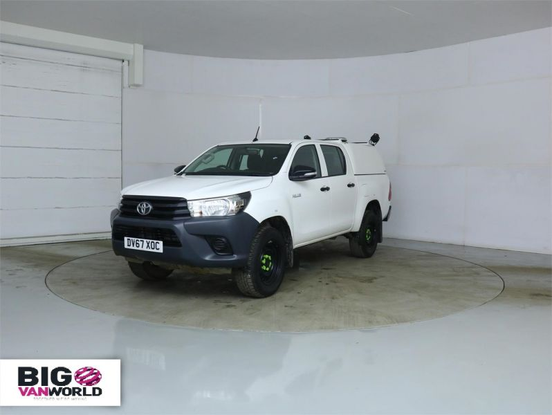 TOYOTA HI-LUX ACTIVE 4WD D-4D 148 DOUBLE CAB WITH TRUCKMAN TOP - 8350 - 5