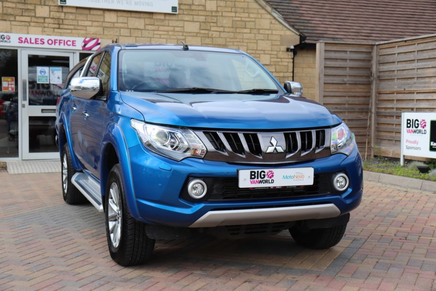 MITSUBISHI L200 DI-D 178 4WD WARRIOR DOUBLE CAB WITH ROLL'N'LOCK TOP - 11123 - 4