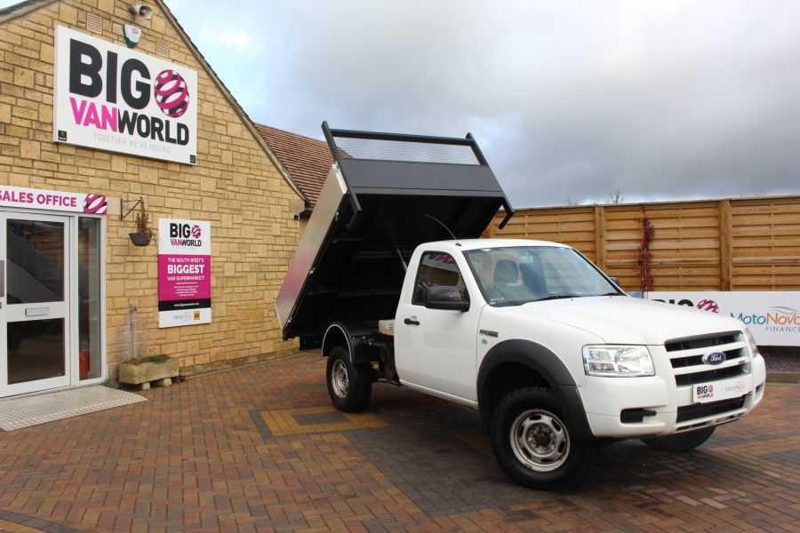FORD RANGER 4X4 TDCI REGULAR CAB ALLOY TIPPER - 7054 - 1