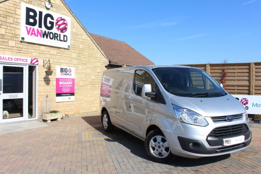 FORD TRANSIT CUSTOM 290 TDCI 170 L1 H1 LIMITED SWB LOW ROOF FWD  VERY RARE - 7563 - 2