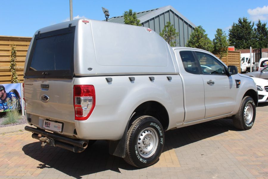 FORD RANGER XL 4X4 TDCI 150 SUPER CAB WITH TRUCKMAN TOP - 6276 - 5