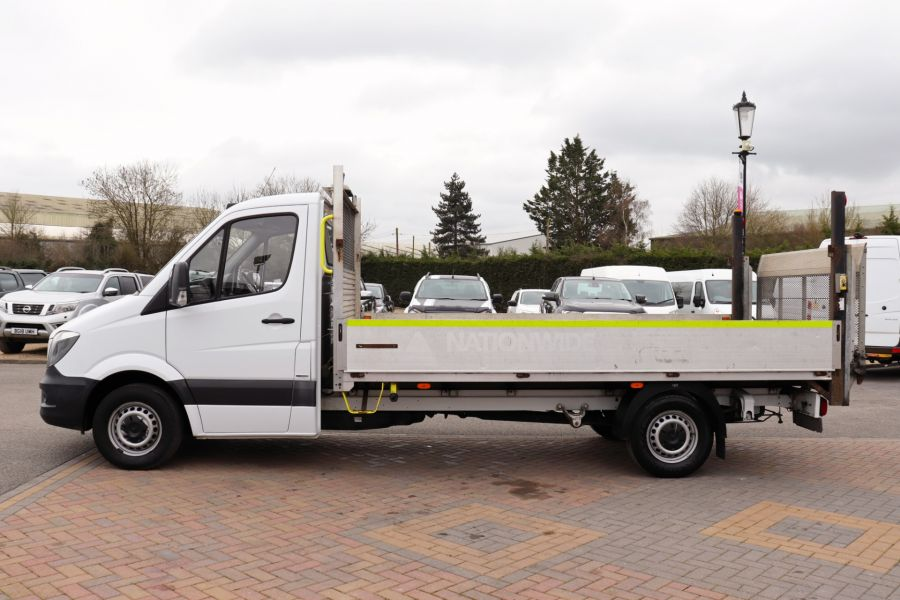 MERCEDES SPRINTER 314 CDI 140 LWB SINGLE CAB ALLOY DROPSIDE WITH TAIL LIFT  (14002) - 12361 - 11
