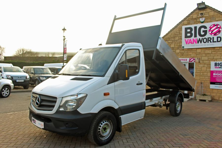 MERCEDES SPRINTER 313 CDI 129 MWB SINGLE CAB NEW BUILD ALLOY TIPPER - 9537 - 7
