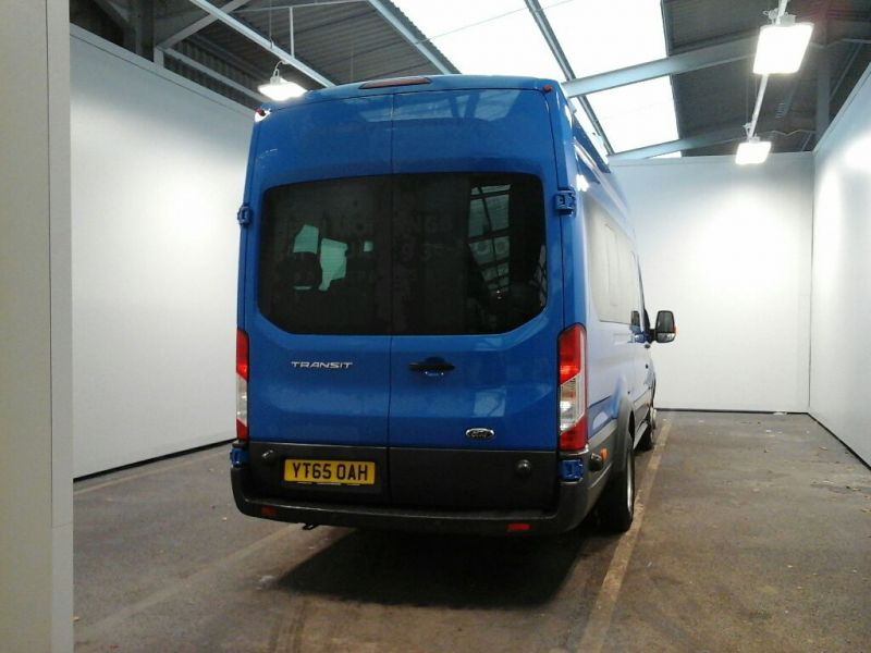FORD TRANSIT 460 TDCI 125 L4 H3 TREND 17 SEAT BUS HIGH ROOF DRW RWD - 8680 - 3