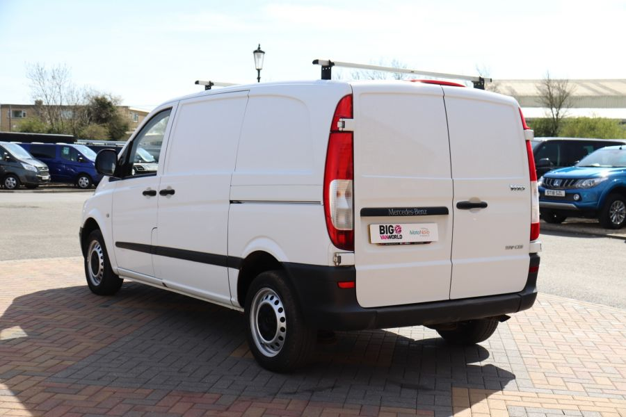 MERCEDES VITO 109 CDI 95 COMPACT SWB LOW ROOF - 10639 - 8