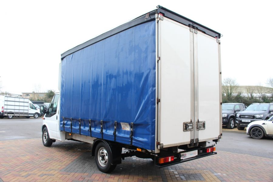 FORD TRANSIT 350 TDCI 125 LWB CURTAIN SIDE FWD - 6982 - 6