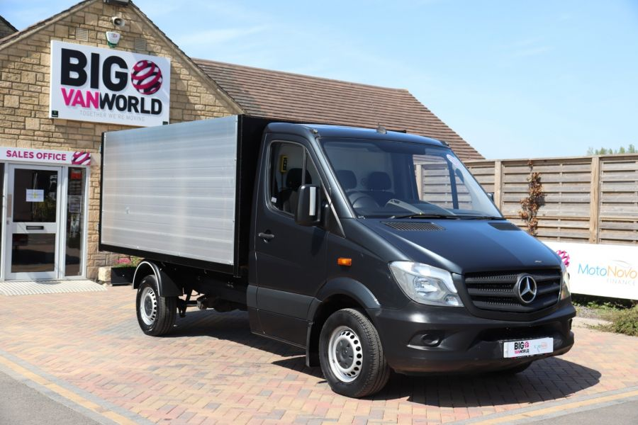 MERCEDES SPRINTER 313 CDI 129 SINGLE CAB NEW BUILD HIGH SIDED ALLOY TIPPER - 9672 - 13