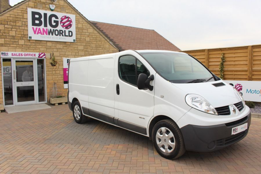 RENAULT TRAFIC LL29 DCI 115 L2 H1 LWB LOW ROOF - 6349 - 2