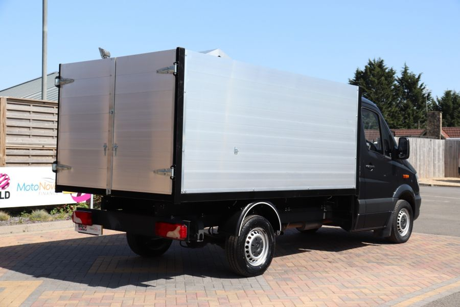 MERCEDES SPRINTER 313 CDI 129 SINGLE CAB NEW BUILD HIGH SIDED ALLOY TIPPER - 9672 - 16