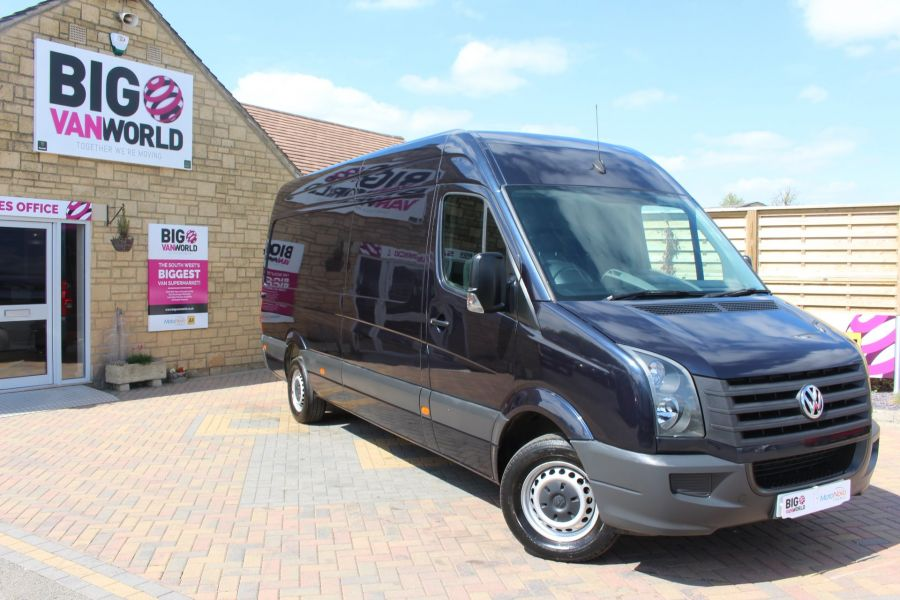 VOLKSWAGEN CRAFTER CR35 TDI 136 LWB HIGH ROOF - 7197 - 2