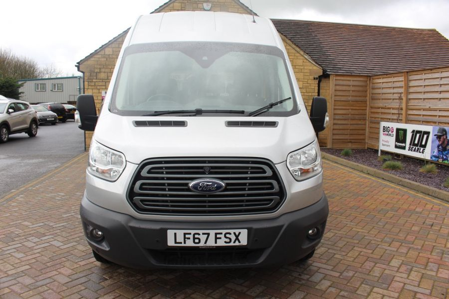 FORD TRANSIT 410 TDCI 155 L3 H3 TREND 15 SEAT BUS LWB HIGH ROOF RWD - 9122 - 7
