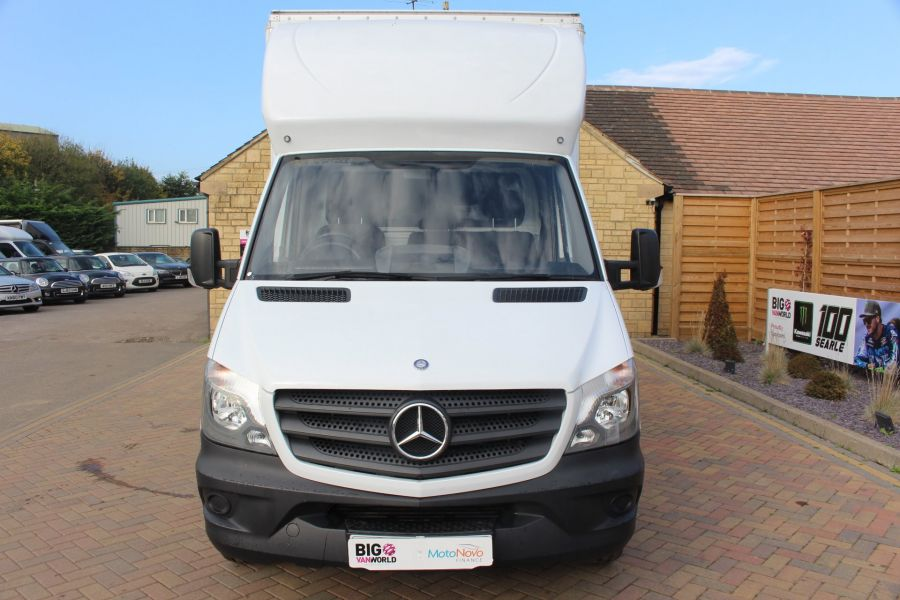 MERCEDES SPRINTER 313 CDI LWB 14FT CURTAIN SIDE LUTON BOX - 6147 - 8