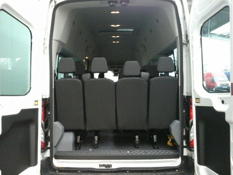 FORD TRANSIT 460 TDCI 125 L4 H3 TREND 17 SEAT BUS HIGH ROOF DRW RWD - 8845 - 4