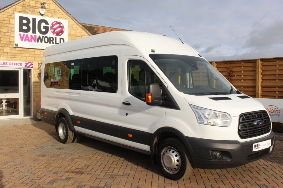 FORD TRANSIT 460 TDCI 125 L4 H3 TREND LWB HIGH ROOF 17 SEATS BUS - 6718 - 2