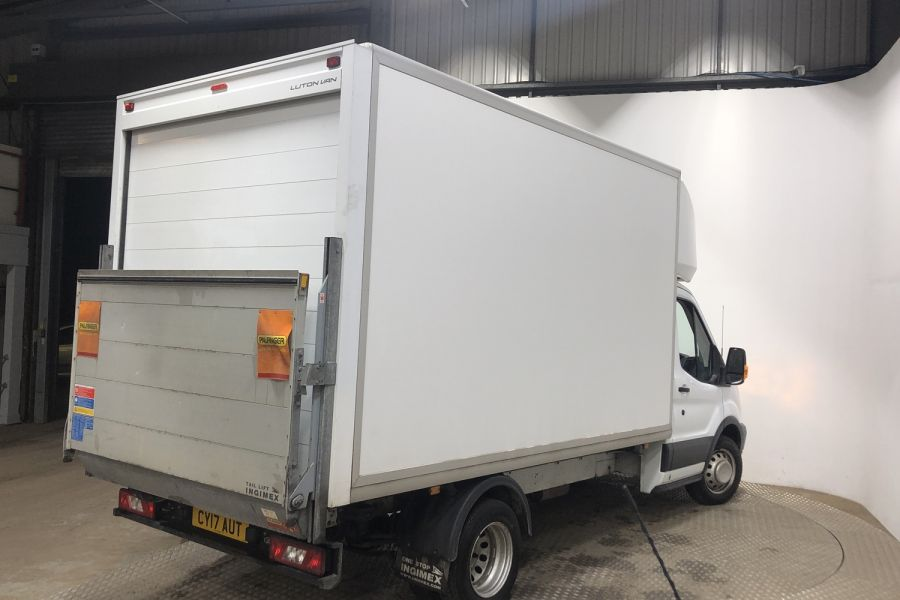 FORD TRANSIT 350 TDCI 130 L3 LWB 'ONE STOP' LUTO VAN WITH TAIL LIFT DRW RWD - 12071 - 3