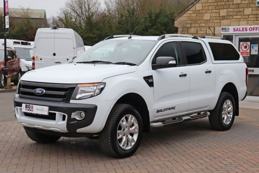 FORD RANGER TDCI 200 WILDTRAK 4X4 DOUBLE CAB WITH TRUCKMAN TOP  (13921) - 12353 - 12