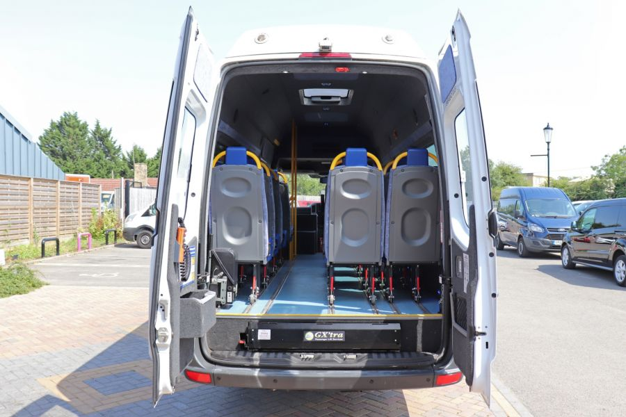 MERCEDES SPRINTER 513 CDI 129 XLWB EXTRA HIGH ROOF 15 SEAT BUS WITH WHEELCHAIR ACCESS - 9801 - 37