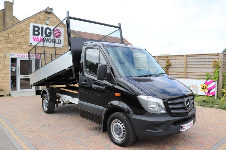 MERCEDES SPRINTER 313 CDI 129 MWD SINGLE CAB NEW BUILD ALLOY CAGED TIPPER - 10235 - 1
