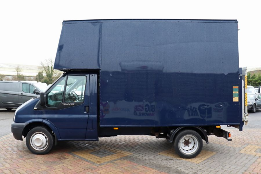 FORD TRANSIT 350 TDCI 100 MWB EXTRA HIGH LUTON BODY WITH TAIL LIFT DRW RWD - 10491 - 9