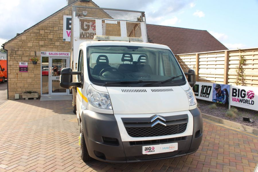 CITROEN RELAY 35 HDI 130 L3 LWB ALLOY TIPPER WITH CAGED - 8122 - 8