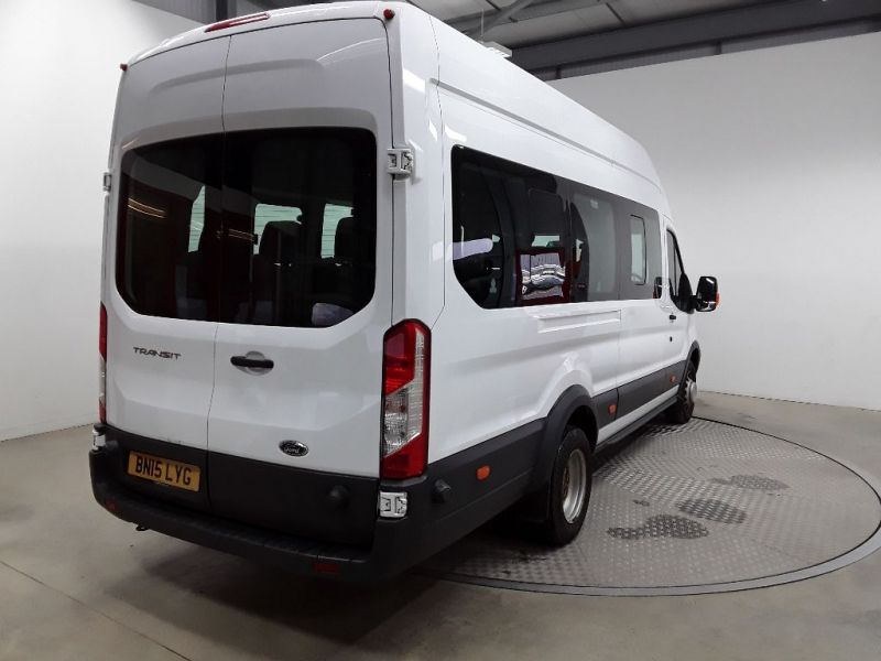 FORD TRANSIT 460 TDCI 125 L4H3 17 SEAT BUS HIGH ROOF DRW RWD - 11894 - 3