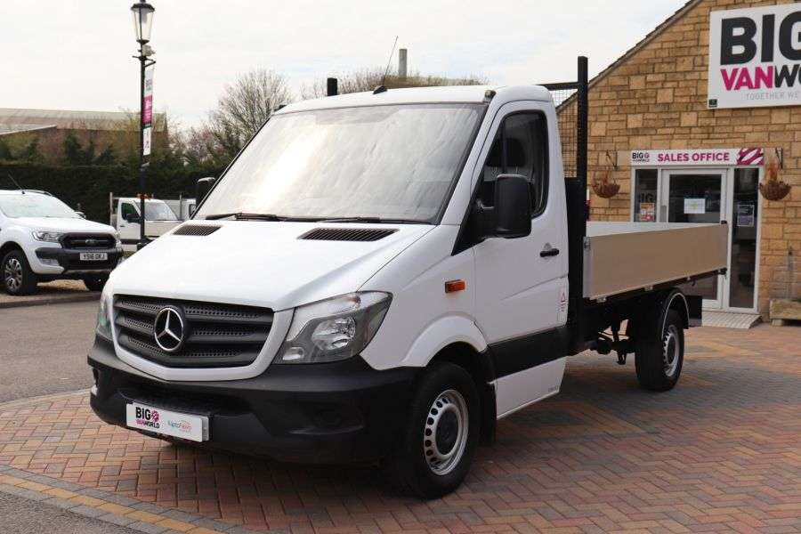 MERCEDES SPRINTER 313 CDI 129 MWB SINGLE CAB NEW BUILD ALLOY TIPPER - 10630 - 11