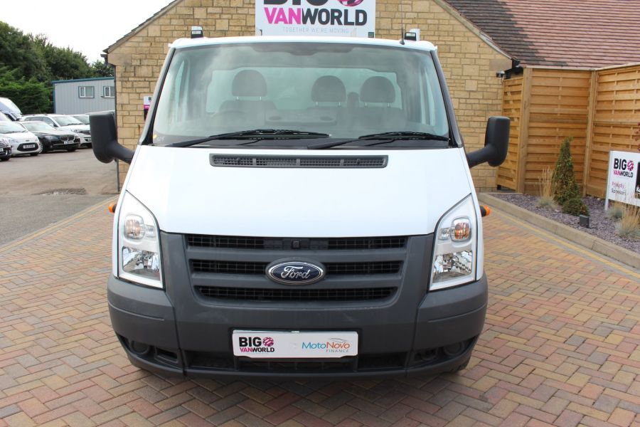 FORD TRANSIT 350 TDCI 100 LWB ALLOY DROPSIDE WITH TOOL BOX DRW - 6528 - 9
