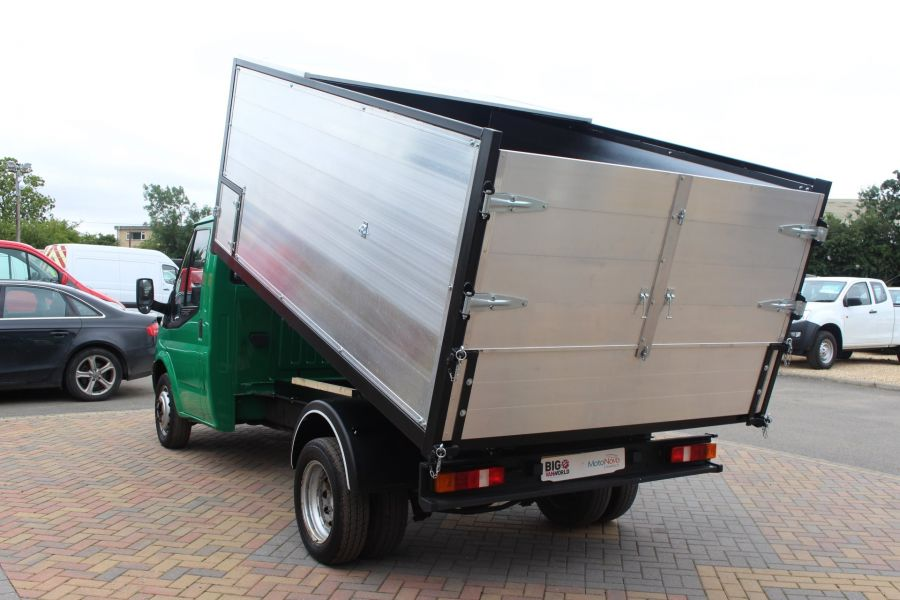 FORD TRANSIT 350 TDCI MWB SINGLE CAB NEW ALLOY ARBORIST TIPPER - 6565 - 7